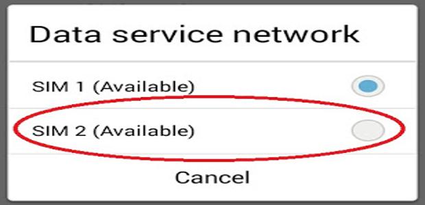 cara merubah koneksi internet dari sim1 ke sim2 di hp asus